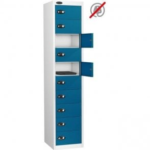 10 Door Laptop Storage Only Locker
