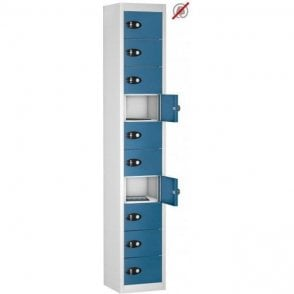 10 Door Tablet Storage Only Locker