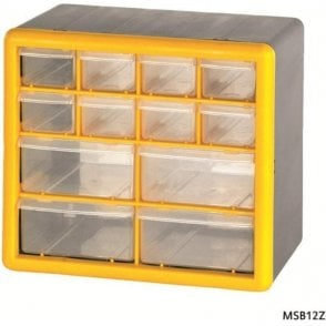 12 Drawer Compartment Box