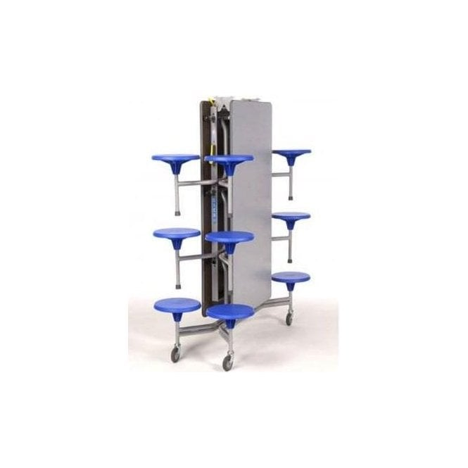 12 Seater Mobile Stool Table