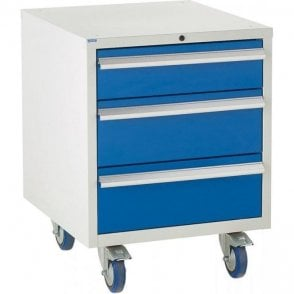 3 Drawer Under Bench Cabinet - 600mm Wide x 780mm High