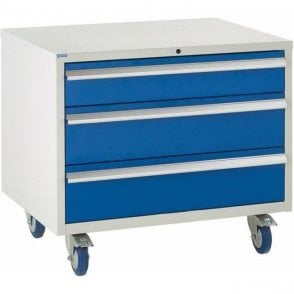 3 Drawer Under Bench Cabinet - 900mm Wide x 780mm High