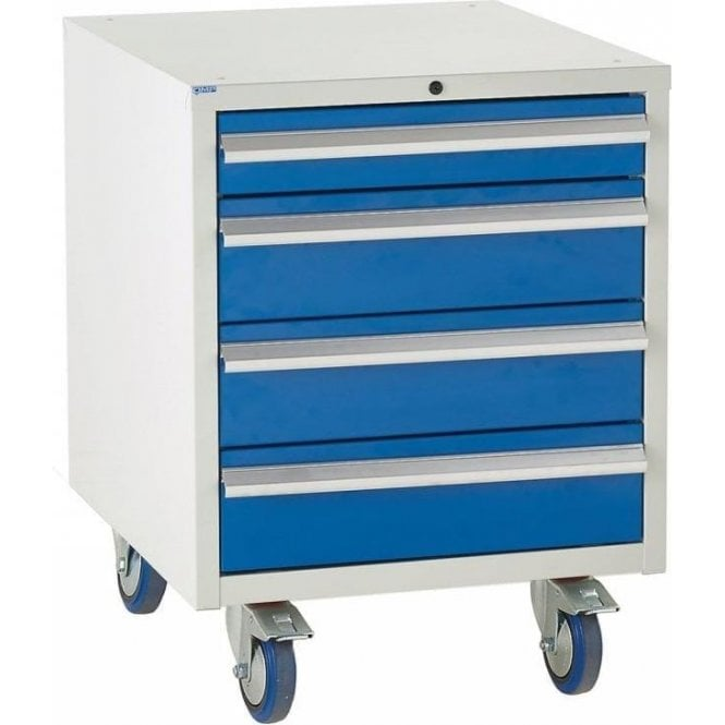 4 Drawer Under Bench Cabinet - 600mm Wide x 780mm High
