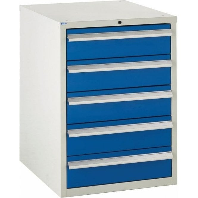 5 Drawer Cabinet - 600mm Wide x 825mm High