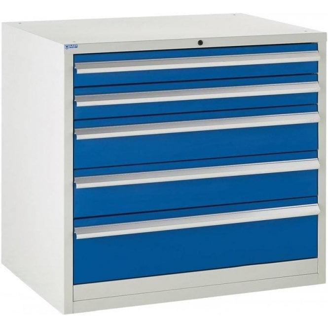 5 Drawer Cabinet - 900mm Wide x 825mm High