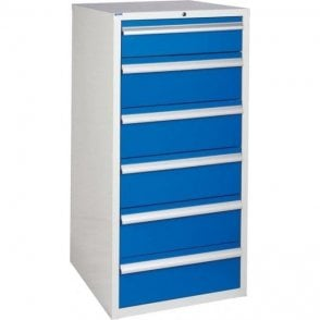 6 Drawer Cabinet - 600mm Wide x 1200mm High