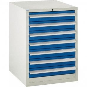 7 Drawer Cabinet - 600mm Wide x 825mm High