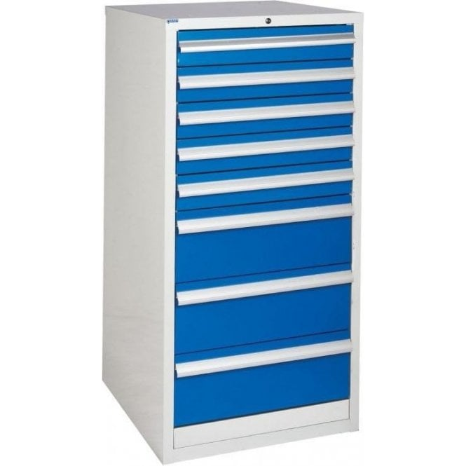 8 Drawer Cabinet - 600mm Wide x 1200mm High