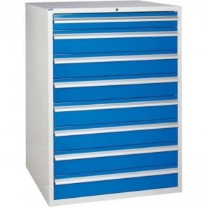 8 Drawer Cabinet - 900mm Wide x 1200mm High