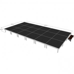 Alu Rapid Stage Package 6m x 3m x 400mm high (1m x 1m sections)