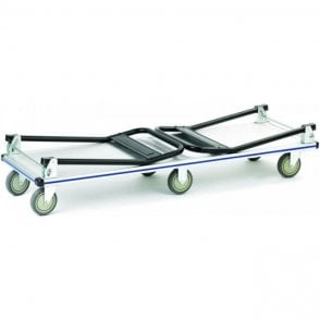 Aluminium Folding Platform Truck - Double Ended