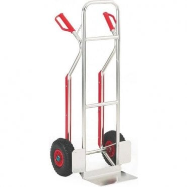 Aluminium Sack Truck with Plastic Guarded Skids