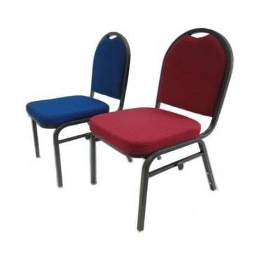 Banquet Chair - Burgundy/Blue