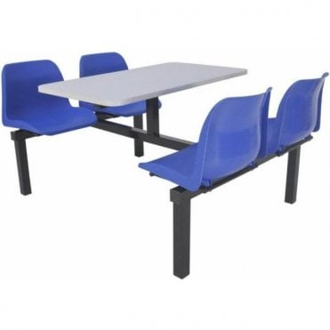 Canteen Table & Chairs - 4 Seat Options