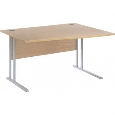 Cantilever Leg Wave Desks