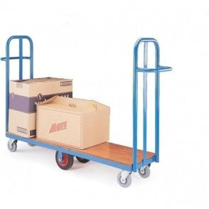 Cash and Carry Narrow Aisle Trolley
