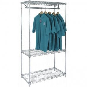 Chrome Wire Garment Racks