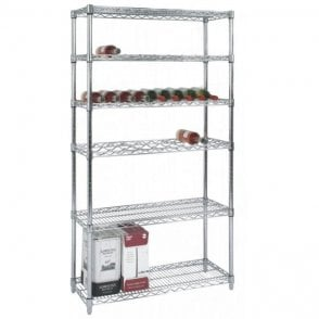 Chrome Wire Wine Racks