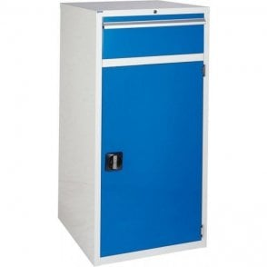 Cupboard with 1 Drawer & 2 Shelves - 600mm Wide x 1200mm High
