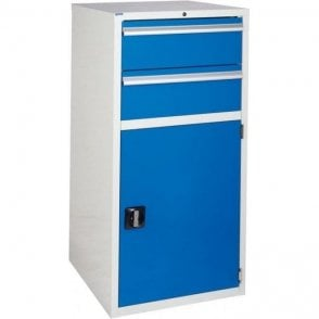 Cupboard with 2 Drawers & 1 Shelf - 600mm Wide x 1200mm High