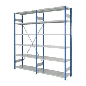 Expo 4 Boltless Shelving 2500mm high