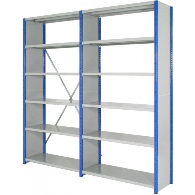 Expo 4 Side Clad Boltless Shelving 2500mm high
