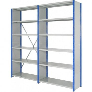 Expo 4 Side Clad Boltless Shelving 3000mm high