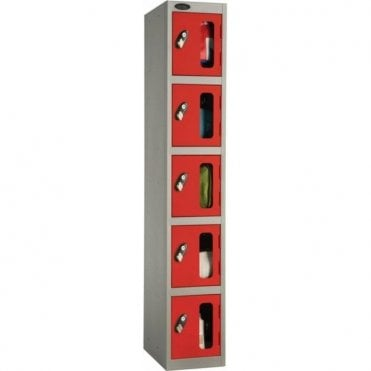 Five Compartment Vision Door Lockers