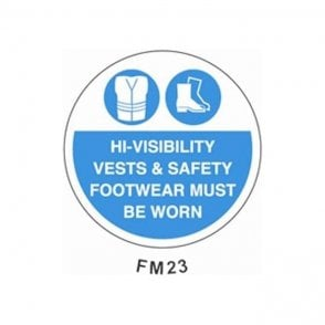 Floor Marker 430mm dia. High Vis Vests & Safety Footwear