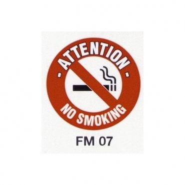 Floor Marker 430mm dia. No Smoking