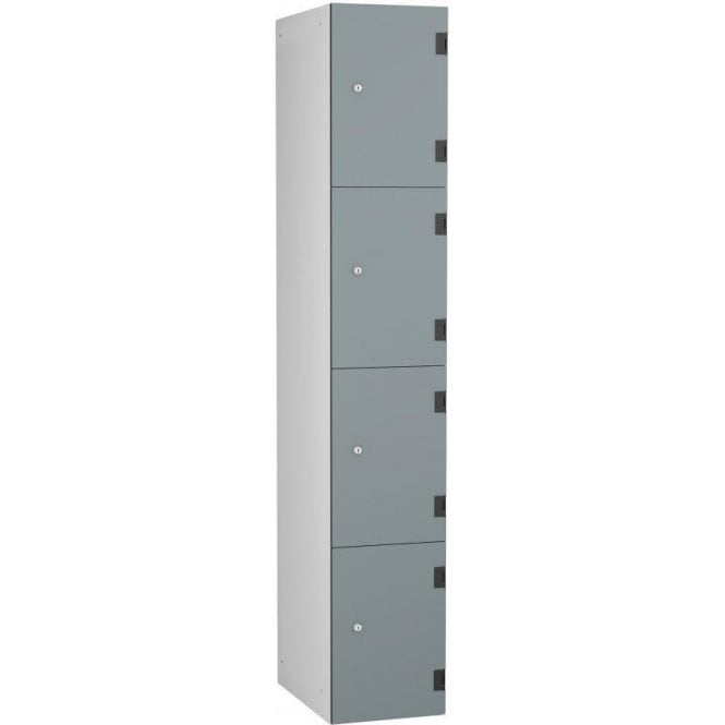 Four Compartment Solid Grade Laminate Door Locker
