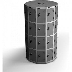 Four Tier Small Seed Pod Locker