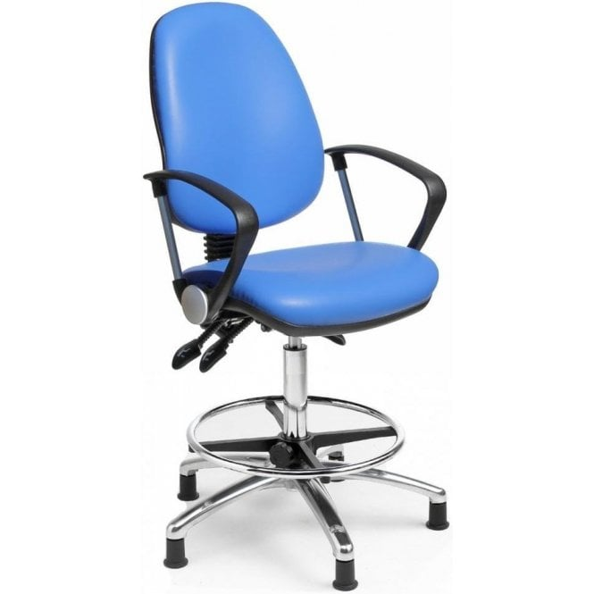 Fully Ergonomic Draughtsman Office Chair