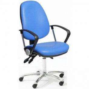 Fully Ergonomic Office Chair Chrome