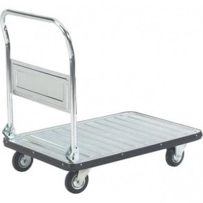 Galvanised Folding Platform Trolley