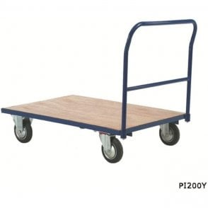 Heavy Duty Platform Truck - Single Bar End