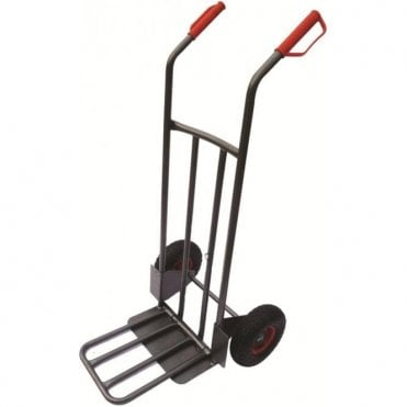 Heavy Duty Steel Sack Truck - Magnet Secured Toe Plate