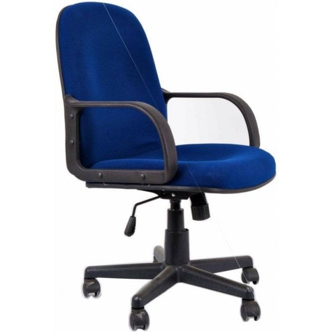 Heavy Duty Teachers Swivel Chair with Fixed Arms