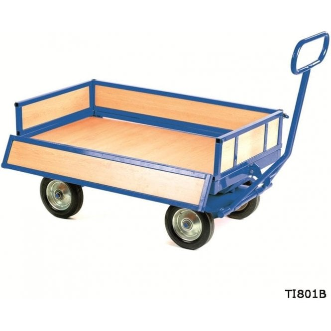 Heavy Duty Turntable Truck - 4 Sided Unit