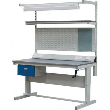 Height Adjustable Workbench 200kg UDL - PREMIUM