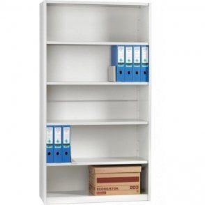 iKon Delta Edge Boltless Shelving 2130mm high - Closed Clad