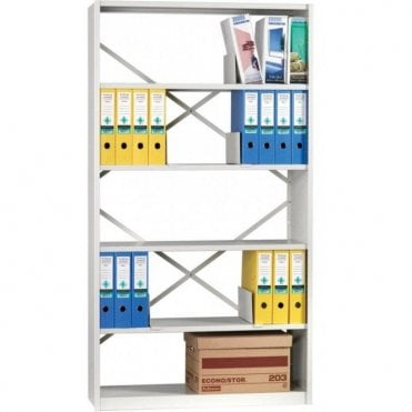 iKon Delta Edge Boltless Shelving 2130mm high - Open Braced