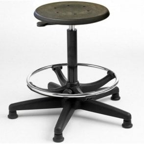 Industrial Cushioned Polyurethane High Stool