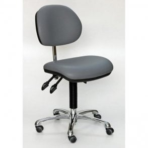 Industrial Upholstered, Fully Ergonomic Low Chair