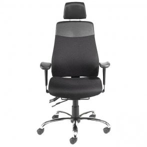 KH1 Executive Chair with Headrest & Lumbar Pump