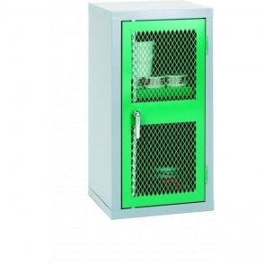 Low Slim Mesh Door Cabinet