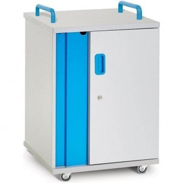 Lyte Single Door 10 Castor Base - mobile storage for 10 devices