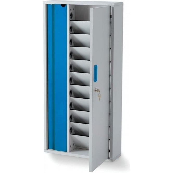 Lyte Wall 10 - compact and secure wall-hung storage for 10 devices