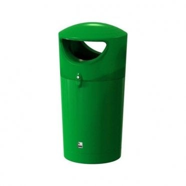 Metro Hooded Litter Bin