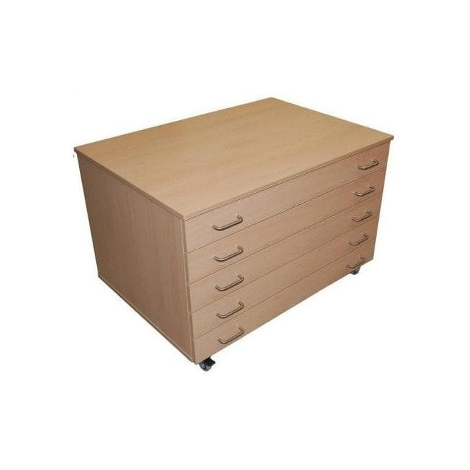 Mobile A1 Paper Cabinet